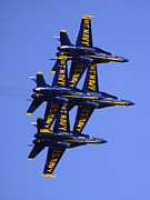 Flights Framed Prints - Blue Angles II Framed Print by Bill Gallagher