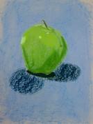 Blue Apple Print by Christopher Murphy