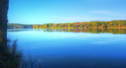 Mount Vernon Photos - Blue Autumn by JC Findley