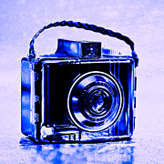 Pop Art Photos - Blue Baby Brownie Special by Jon Woodhams