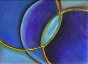 Navy Pastels - Blue by Barbara Magyar