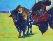 Bison Originals - Blue Beard by Derrick Higgins