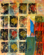 Blue Bird Print by Patricia Januszkiewicz