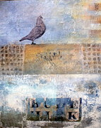 Susan Mccarrell Art - Blue Bird by Susan McCarrell