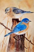 Deane Locke - Blue Birds