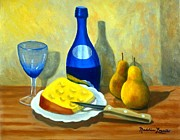 Madeline  Lovallo - Blue Bottle with Cheese...