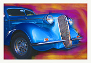 Whitewall Tires Mixed Media Prints - Blue Boy Print by Doug Walker