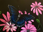 Jennifer Jeffris - Blue Butterfly
