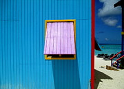 Shore Excursion Prints - Blue Cabin Print by Randall Weidner
