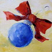 Suzy Pal Powell - Blue Christmas Ornament