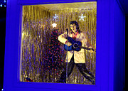Elvis Presley Art - Blue Christmas Without Elvis by Kathy  White