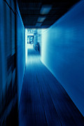 Craig Brown Art - Blue Corridor by Craig Brown