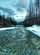 Beautiful Creek Prints - Blue Creek Print by James Wheeler