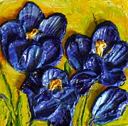 Paris Wyatt Llanso - Blue Crocuses