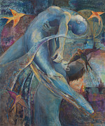 Ferguson Originals - Blue Dancers by Anika Ferguson