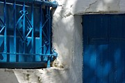 Andy Fletcher - Blue Door and Window in...