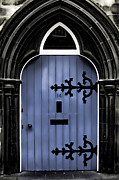 Craig Brown Art - Blue Door by Craig Brown