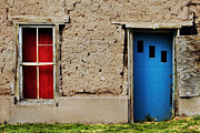 Lawrence Costales - Blue Door on Adobe
