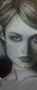 Featured Pastels - Blue eyed Girl by Alexis Tutt