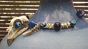 Band Jewelry Originals - Blue-eyed Rooster  by Doose Carol