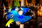 Saluda Photos - Blue Fish by Rugged Shutter