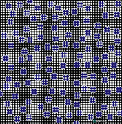 Gianni Sarcone - Blue Floating Squares