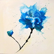 Mary Kay Holladay - Blue Flower