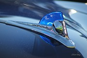 Dodie Ulery - Blue Ford Hood Ornament