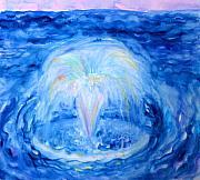 Anne Cameron Cutri - Blue Fountain