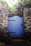 Gate Prints - Blue Gate Print by Joana Kruse