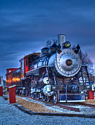 Boiler Photos - Blue Ghost - Engine 509 by Douglas Barnett