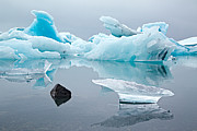 Dirk Ercken - Blue glacier drift ice...