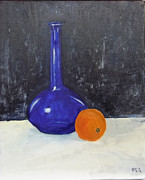 Peter Edward Green  - Blue glass and Orange