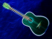 Music Lovers - Blue Guitar by Hanza Turgul