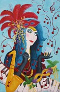 Valerie Chiasson-Carpenter - Blue Haired Lady