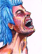 Zany Originals - Blue Haired Rocker by Eric McGreevy
