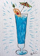Kathy Marrs Chandler - Blue Hawaiian Cocktail