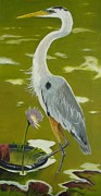 Theon Guillory - Blue Heron