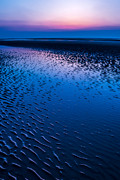 Horizon Digital Art Metal Prints - Blue Hour  Metal Print by Adrian Evans