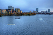 Charles River Photo Prints - Blue Hour on the Charles Print by Joann Vitali