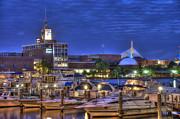 Joann Vitali - Blue Hour on the Charles River - Boston