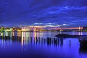 Joann Vitali - Blue Hour Over Boston Harbor 2