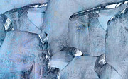Manifestation Prints - Blue Ice Print by Jack Zulli