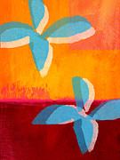 Blue Jasmine Print by Linda Woods