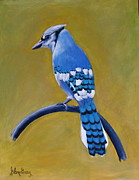 Earth Tone Originals - Blue Jay by Glen Gray