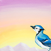 Emily Brantley - Blue Jay Sunrise