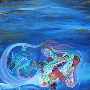 Shelley Overton - Blue Koi