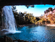 Hamilton Pool Photos - Blue Lagoon by Rob Weisenbaugh