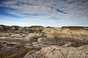 Travel Photographs Framed Prints - Blue Mesa Path Framed Print by Phill  Doherty