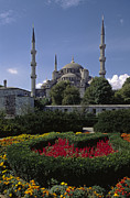Urban City Areas Photos - Blue Moasque Istanbul by Craig Lovell